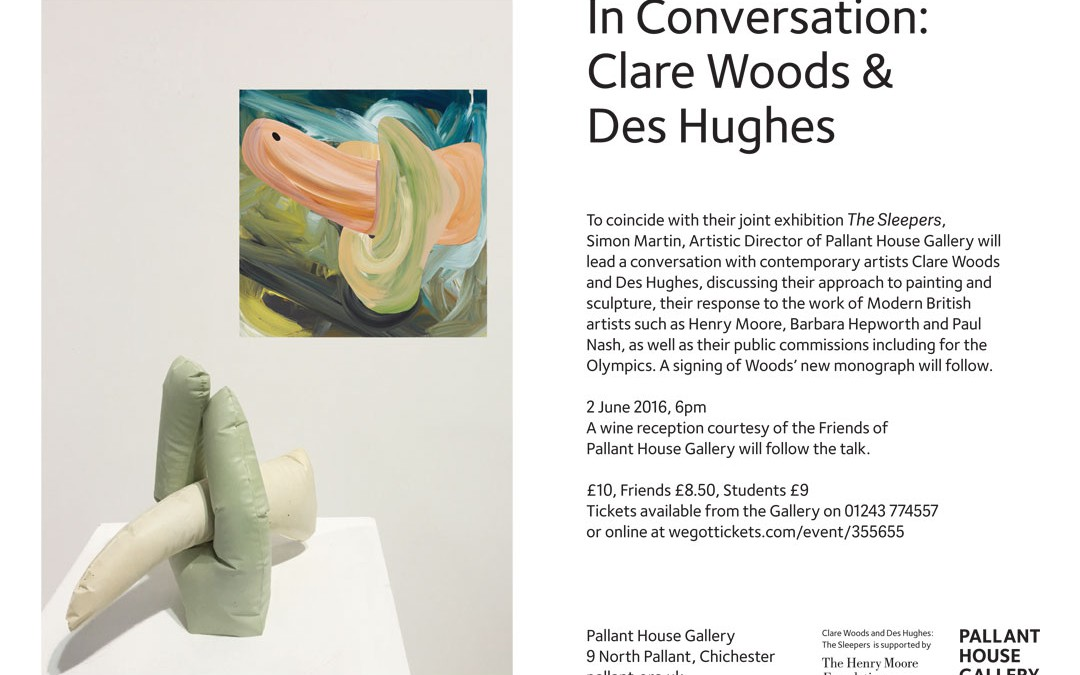 Talk with Des Hughes at Pallant House